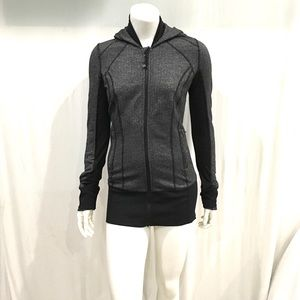 Lululemon Womans Herringbone Textured Hoodie